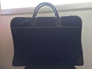 MUJI Blue Working Bag