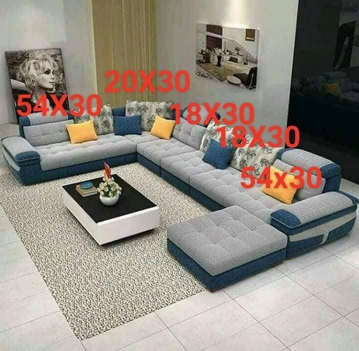 15 Seater Sofa With 3 Foot Stool Home Amp Furniture On