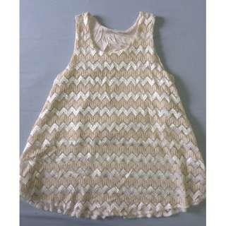 Lace top with inner wear