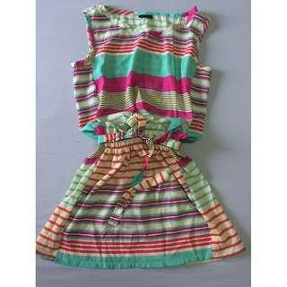 Colorful long top or dress