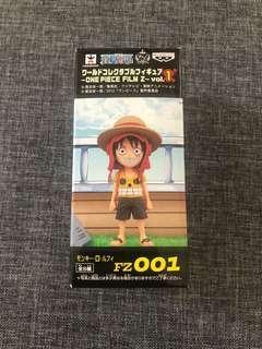 One Piece 海賊王 WCF Film Z 路飛