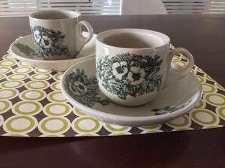 Kopi Tiam cup and saucer