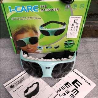 Kacamata I Care Eye Massager Alat Terapi Pengurang Minus Mata