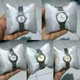 Jam tangan import wanita stainless water resist
