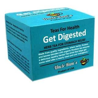 Uncle Ram's Tea For Health 'Get Digested'