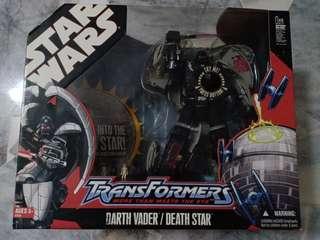 Transformers Darth Vader Death Star Wars