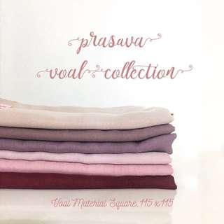 Voal Segi empat by Coral Pinkie