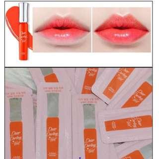 #EVERYTHING18 FREE SHIPPING 10pcs ETUDE HOUSE DEAR DARLING TINT OR201