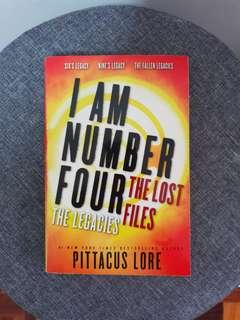 I Am Number Four: The Lost Files - The Legacies by Pittacus Lore