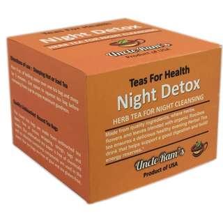 Uncle Ram's Tea For Health 'Night Detox'