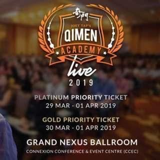 Joey Yap's Qimen Academy Live 2019 - 3 Day Gold Priority Ticket - 30 Mar - 1 Apr 2019 in KL