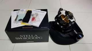 Shimano Stella 8000PG (Fishing Spinning Reel)
