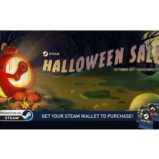 Halloween Sale on STEAM!