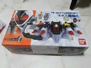 Kamen rider fourze DX belt