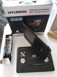全新 hyundai ds1258 TV DVD 播放器