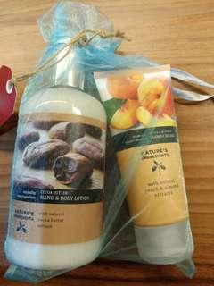 Marks and Spencer Gift Set Hand & Body Lotion + Handcream