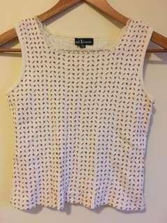 Ralph Lauren floral cotton top