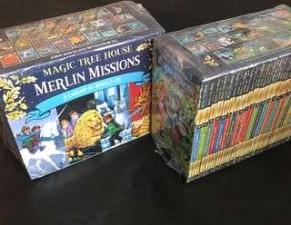 💥NEW-  Magic Tree House series Merlin Mission Books 1–25 Pack  #1 New York Timesbestselling NEW LOOK!  - Children Story books