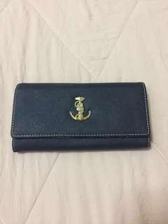 Dark blue Wallet #OCT10