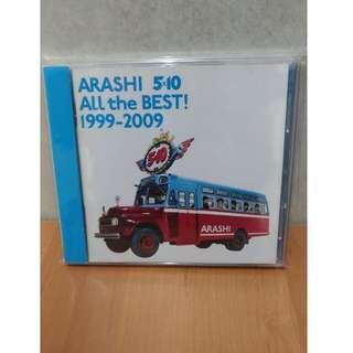 ◎嵐ARASHI All the BEST! 1999-2009(通常盤)