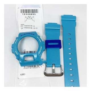 G-Shock Watch DW-6900CB-2 Resin Band & Bezel Replacement Parts