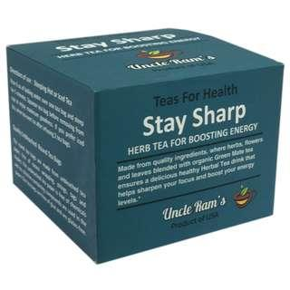 Uncle Ram's Tea For Health 'Stay Sharp'