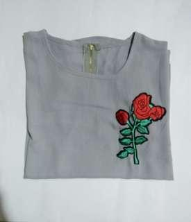 Rose Patch Blouse