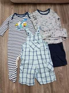Blessing Baby Boys Clothes(12-18months)