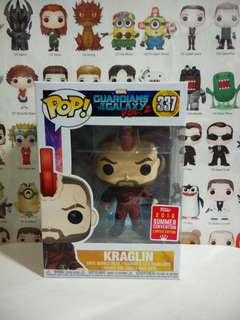🚚 Funko Pop Kraglin Summer Convention Exclusive Vinyl Figure Collectible Toy Gift Movie Comic Super Hero Guardians Of The Galaxy Marvel