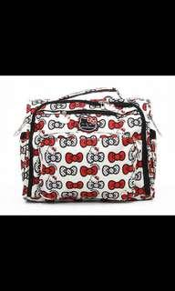 Jujube EUC Hello Kitty Peek a Bow B.F.F Diaper Bag