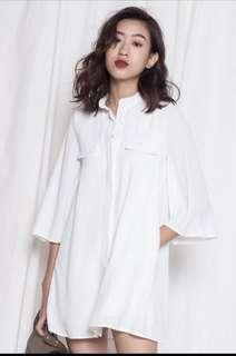 YHF Dolce Dress in White
