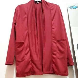 Cardigan Red Blood