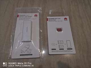BNIB: HUAWEI NANO CARD and Card reader