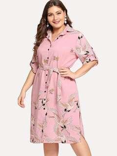 Plussize casual dress
