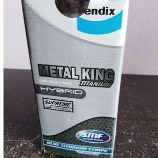 Bendix Metal King Frt Disc Brake Pad Toyota Altis