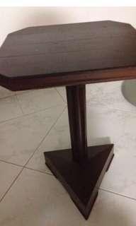 Teak wood side tables