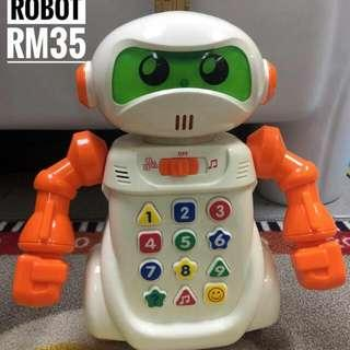 Learning Voice Recording Robot