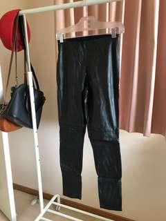 H&M Pleather Pants