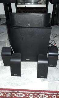 Infinity 5.1 Speaker System