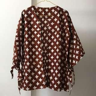 Loose outer batik