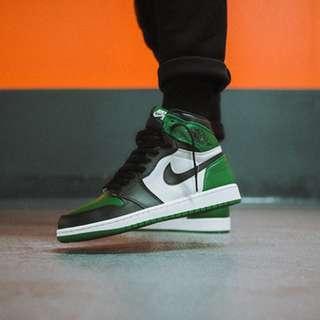 46694da0f9a050 Jordan 1 Retro High Pine Green