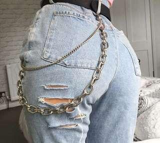 """""""CHAIN ME"""" JEANS"""