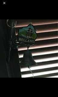 Holland Wrought Iron Doorbell Gardens Vintage Retro