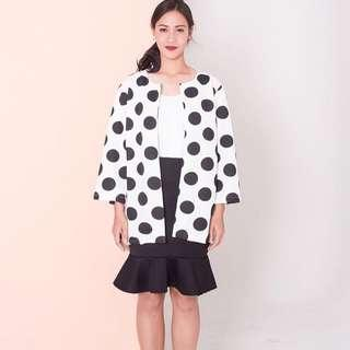 Polkadot outer by BESTE PROJECT