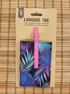 BN Typo Luggage Tag