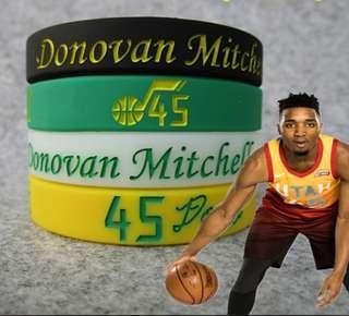 NBA 手帶 Jazz #45 Donovan Mitchell