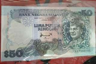 Duit RM 50 lama