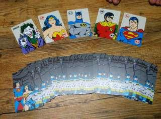 Local PVC DC Superheroes Poker Cards