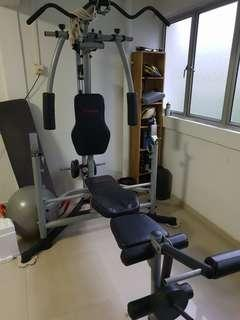 VIGOR Home GYM with weights
