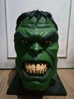 The Incredible Hulk Statue Head Bust Recast
